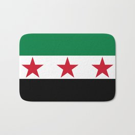 Independence Flag of Syrian, High quality Bath Mat
