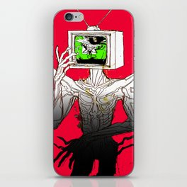 TV HEAD iPhone Skin