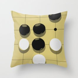 Go Game Throw Pillow