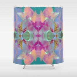 Floral Kaleidoscope Dream Shower Curtain