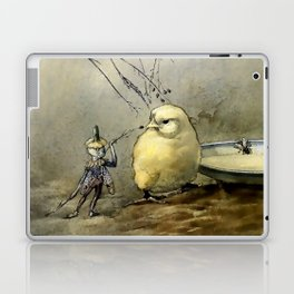 """""""Bother the Gnat"""" by Duncan Carse Laptop & iPad Skin"""