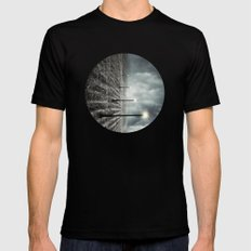 Destination Anywhere Black MEDIUM Mens Fitted Tee