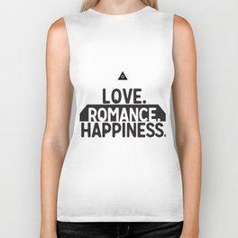 Sacred Symbols - Pyramid - All Seeing Eye - Love,Romance, Happiness - Secret Biker Tank