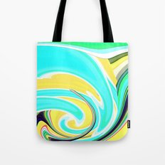 Re-Created  Sour Candy 6 by Robert S. Lee Tote Bag