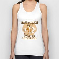 lebowski Tank Tops featuring The Big Lebowski by Giovanni Costa