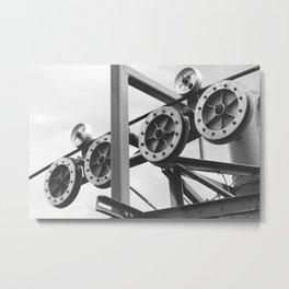 """""""The Workings of Sandia"""" Metal Print"""
