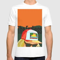 The Endless ONE Mens Fitted Tee White SMALL