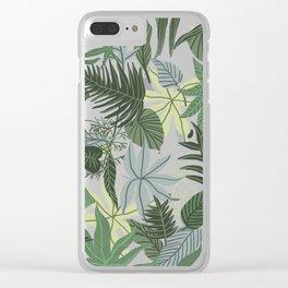 In The Jungle Clear iPhone Case