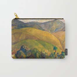Diego Rivera - Pyrenees Mountains Catalonia, Spain landscape painting Carry-All Pouch