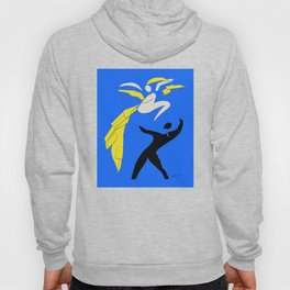 Henri Matisse Two Dancers 1937 - Cut Out Artwork Reproduction for Wall Art, Prints, Posters, Apparel Hoody