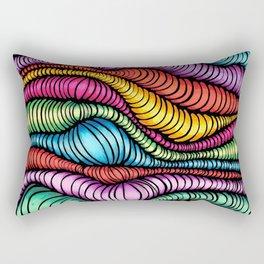 Optical Disillusion  Rectangular Pillow