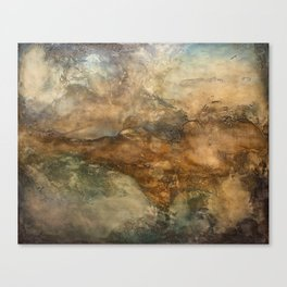 Throes Canvas Print