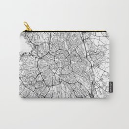 Toulouse Map White Carry-All Pouch