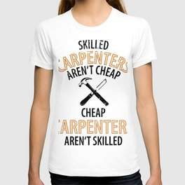 Wood Carpenter Joiner Woodcutter Craftsman T-shirt