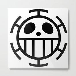 trafalgar law symbol Metal Print