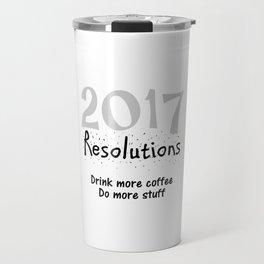 434 2017 Resolutions Travel Mug