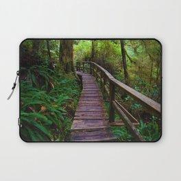 Walks through the Rainforest on Vancouver Island, Canada Laptop Sleeve
