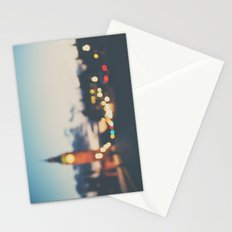 london lights Stationery Cards