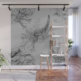 BOUQUET -pattern Wall Mural