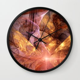 I Wish I Was a Fool For You Wall Clock