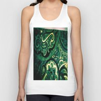 paisley Tank Tops featuring Paisley by Kim Ramage