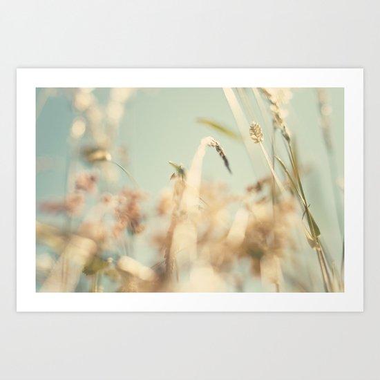 sweet sweet days of summer ... Art Print