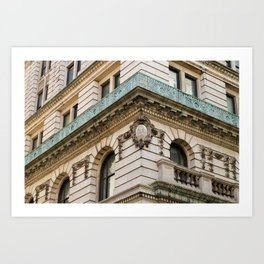 Mint and Cream New York City Art Print