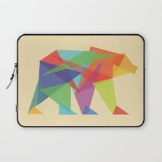 Fractal Geometric bear Laptop Sleeve