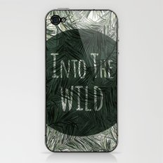 into the wild *palms iPhone & iPod Skin