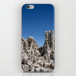 mono lake on blue iPhone Skin