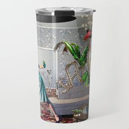 Mantis Encounter Travel Mug