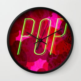 Pop Wall Clock