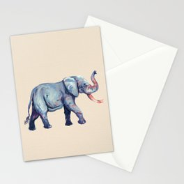 Lucky Elephant Painting Stationery Cards