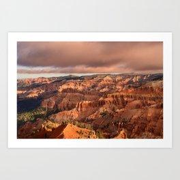 Morning 6011 - Cedar Breaks National Monument, Utah Art Print