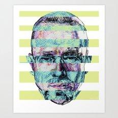 BREAKING BAD JESSE/WALTER Art Print