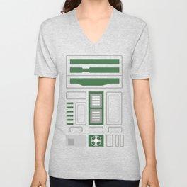 R2 Droids - Green Unisex V-Neck