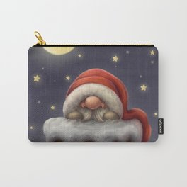 Little Santa in a chimney Carry-All Pouch