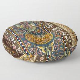 Sicilian ART NOUVEAU Floor Pillow