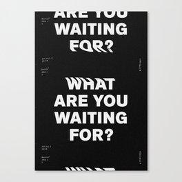 365 Vol. ² – 10 Canvas Print