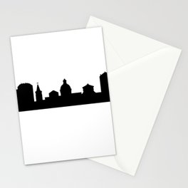 city skyline Stationery Cards