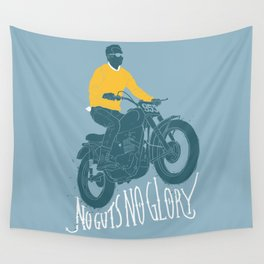 no guts no glory Wall Tapestry