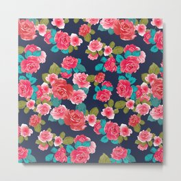 Cool Rose flowerss Metal Print