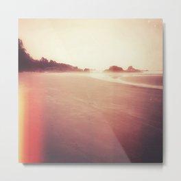 Technicolor Beach Dreams 2 Metal Print