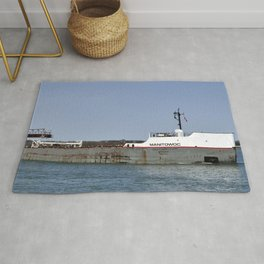 Manitowoc freighter Rug