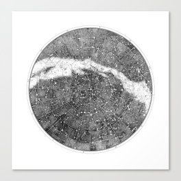 Star Map Canvas Print