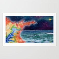 Monterey Explorer Art Print