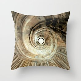 wendeltreppe Throw Pillow
