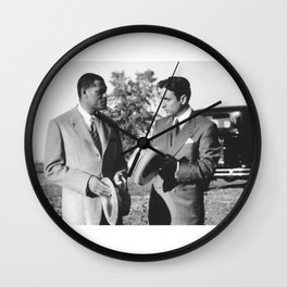𝗡𝗼𝘃.𝟳   Society6 Online Photography - Home & Office Art - Laurence John Fishburne III 778 Wall Clock