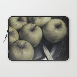 Still life with green apples Laptop Sleeve