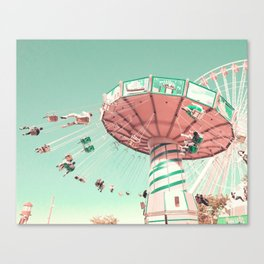 And It's Time To Go Round Canvas Print